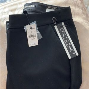 NEVER WORN, WITH TAGS, Express columnist pants